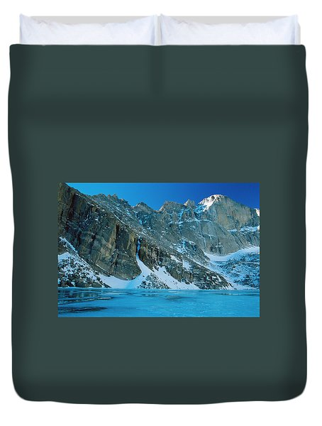 Blue Chasm Duvet Cover