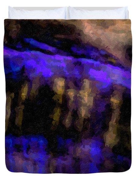 Blue Cliff Duvet Cover