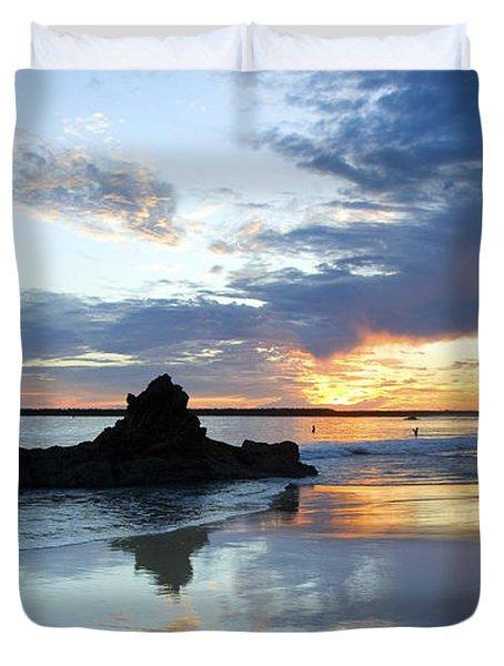 Corona Del Mar Duvet Cover