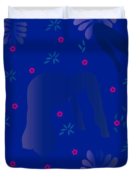 Blue Dance - Limited Edition  Of 30 Duvet Cover