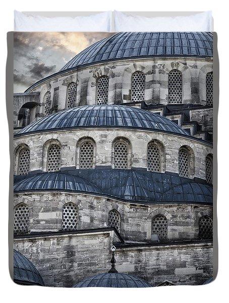 Blue Dawn Blue Mosque Duvet Cover