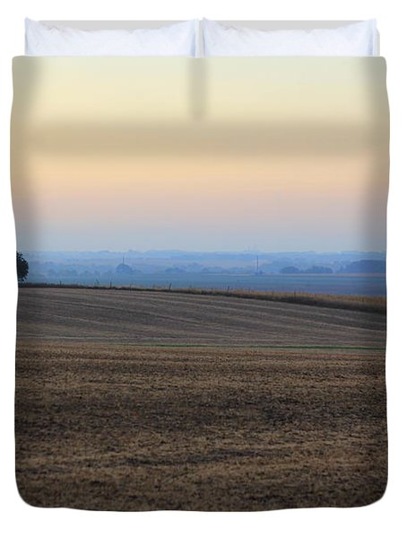 Blue Dawn Duvet Cover