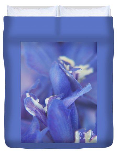 Blue Delight Duvet Cover