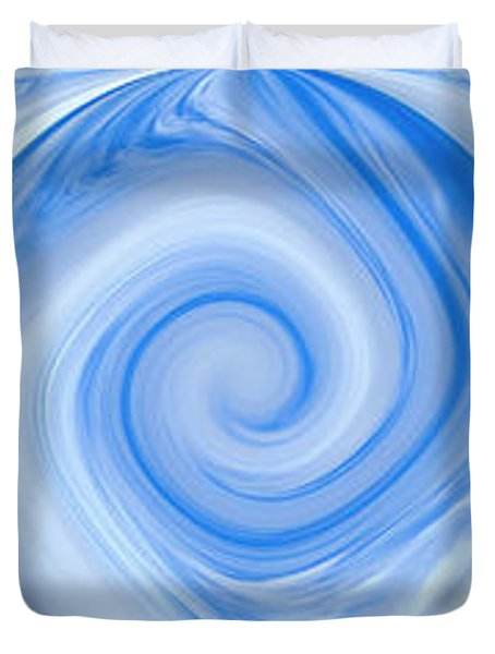 Blue Design Duvet Cover