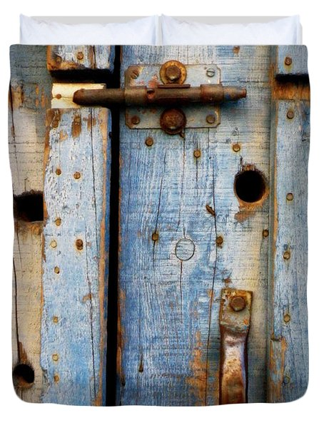 Blue Door Weathered To Perfection Duvet Cover