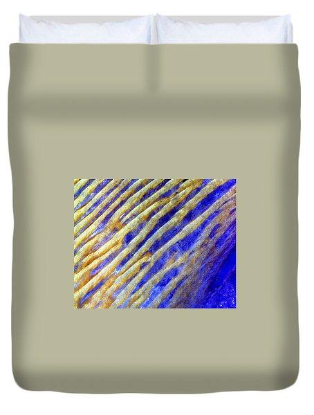 Blue Dunes Duvet Cover by Adam Romanowicz