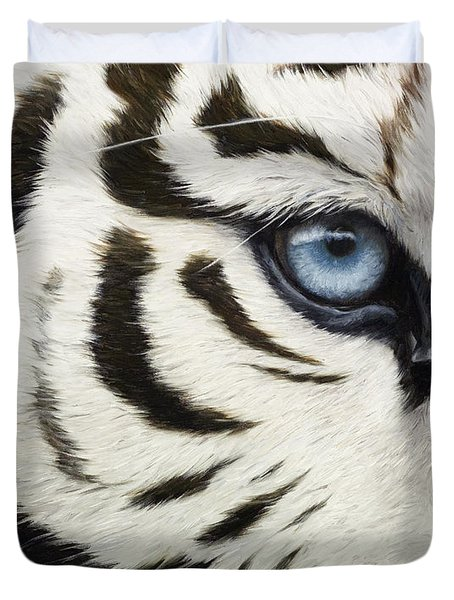 Blue Eye Duvet Cover