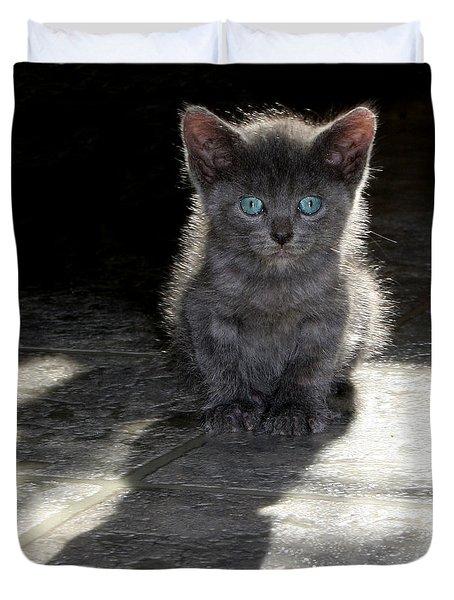 Blue Eyes Duvet Cover