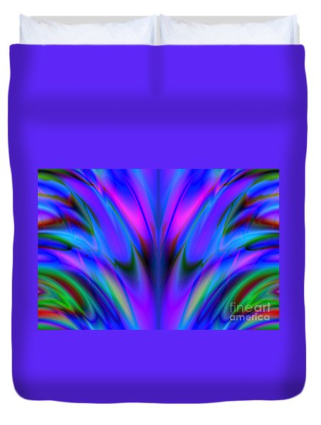 Blue Flame Duvet Cover