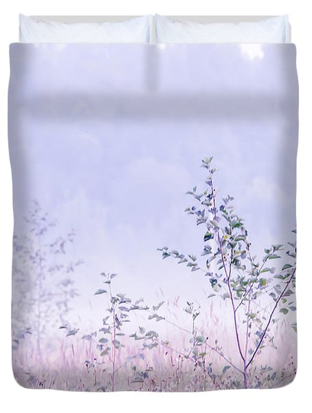 Blue Fog Duvet Cover