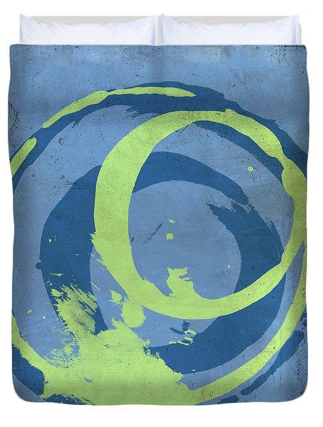 Blue Green 7 Duvet Cover