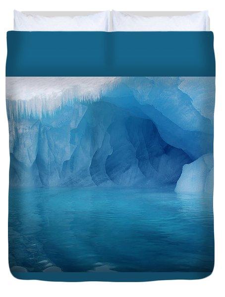 Blue Grotto Duvet Cover