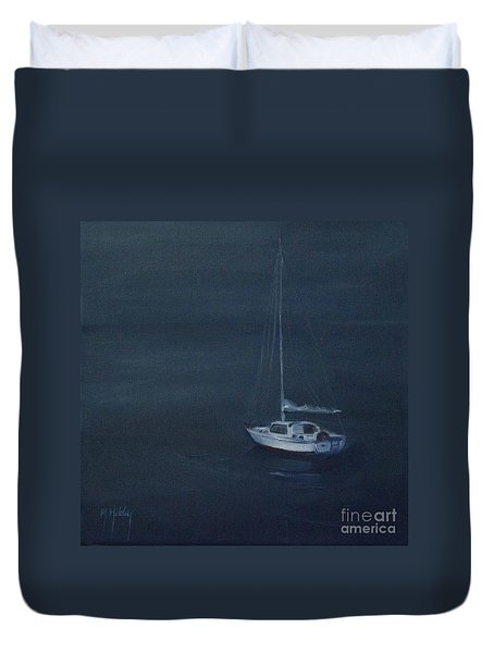 Blue Horizon Duvet Cover by Mary Hubley
