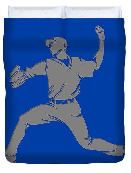 Blue Jays Shadow Player1 Duvet Cover