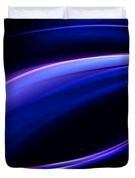 Blue Purple Light Duvet Cover