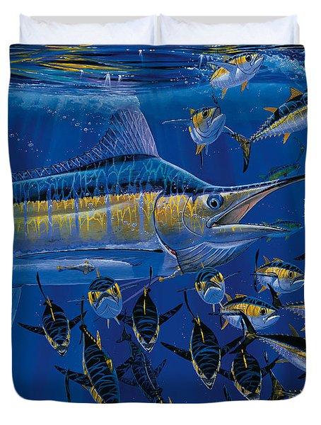 Blue Millennium Duvet Cover by Carey Chen
