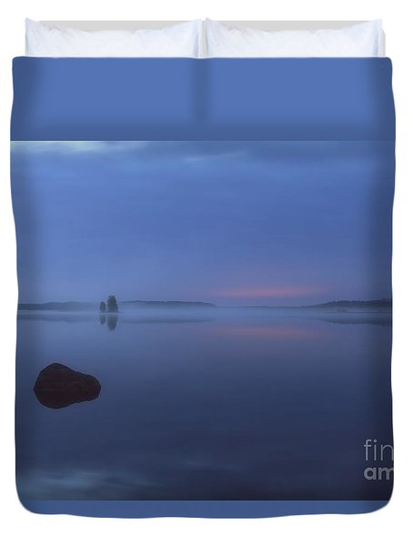 Blue Moment Duvet Cover by Veikko Suikkanen
