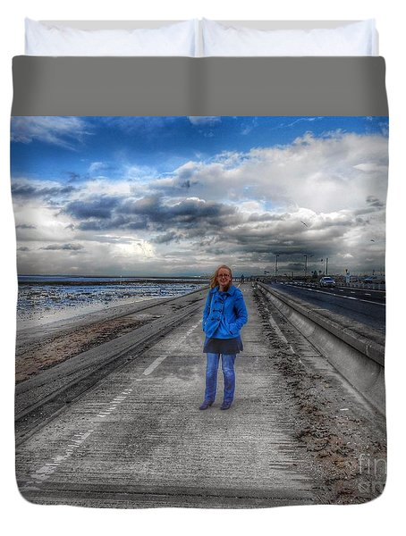 Blue Moods Duvet Cover