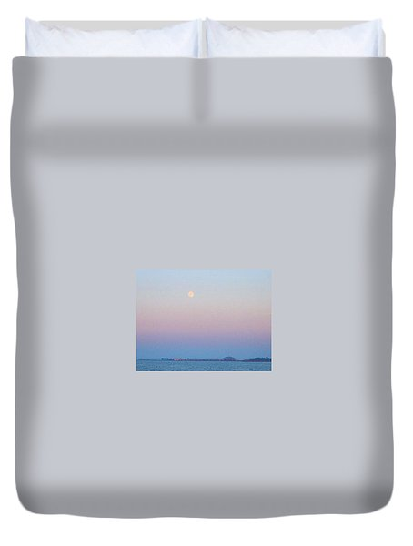 Blue Moon Eve Duvet Cover