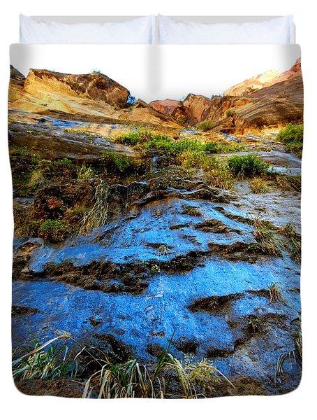 Blue Mountain Duvet Cover