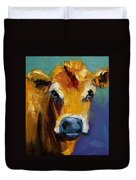 Blue Nose Cow Duvet Cover