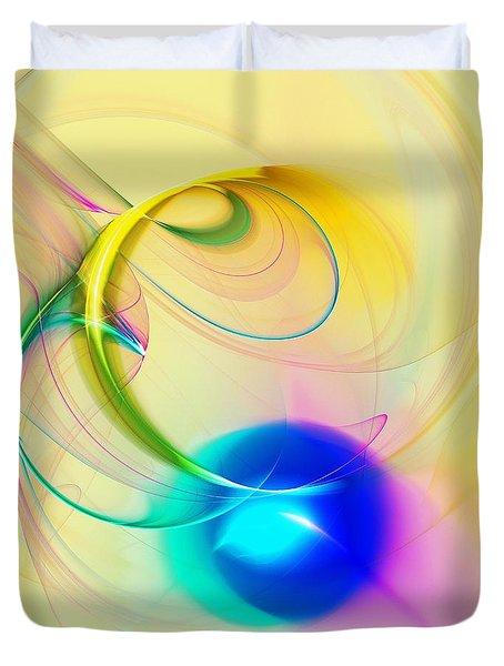Blue Note Duvet Cover by Anastasiya Malakhova