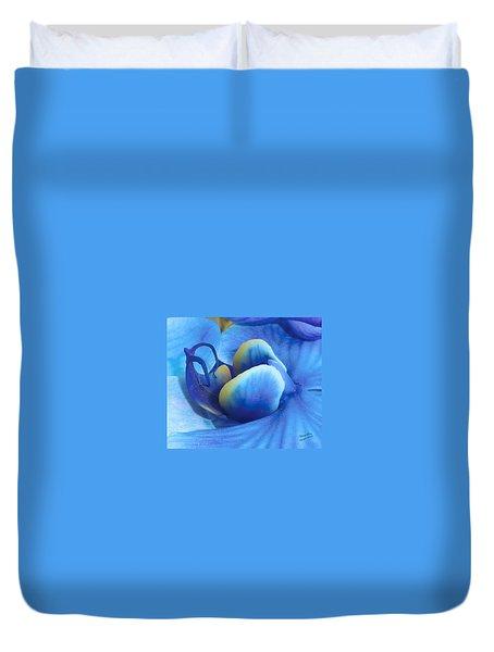 Blue Oasis Duvet Cover