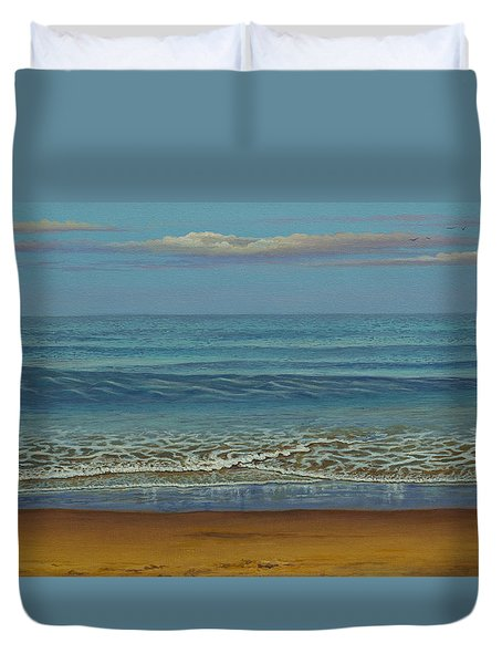 Blue Ocean Duvet Cover