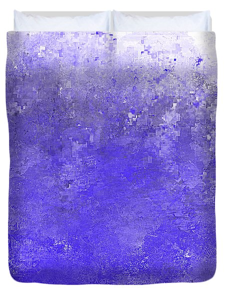 Blue Ocean Wave Duvet Cover by Jessica Wright