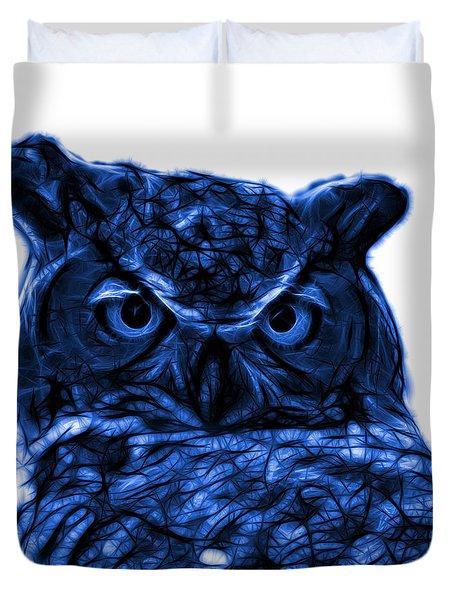 Blue Owl 4436 - F S M Duvet Cover