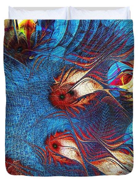 Blue Pond Duvet Cover by Anastasiya Malakhova