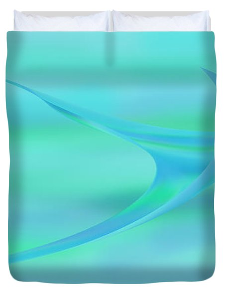 Blue Ray Duvet Cover