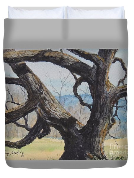 Blue Ridge Memories...sold Duvet Cover