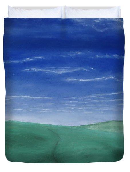 Blue Skies Ahead Duvet Cover