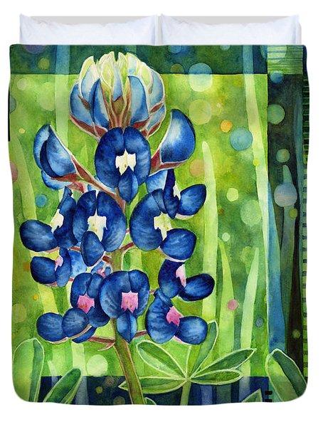 Blue Tapestry Duvet Cover