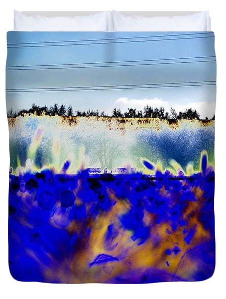Blue Things Duvet Cover by Carol Lynch