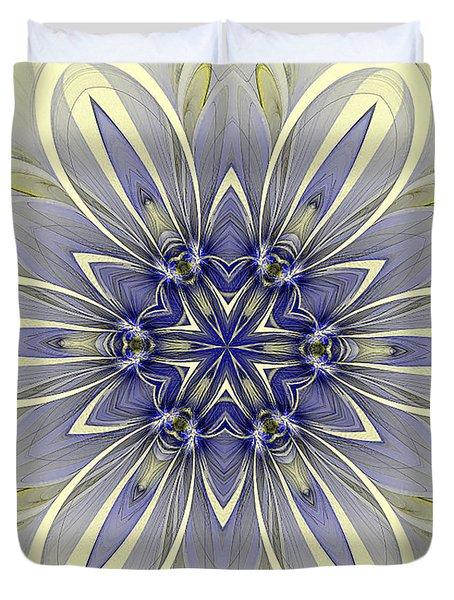 Blue Trance Duvet Cover