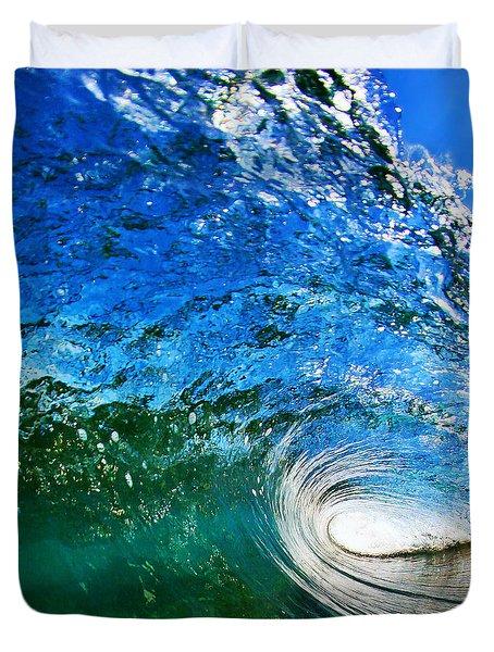 Blue Tube Duvet Cover