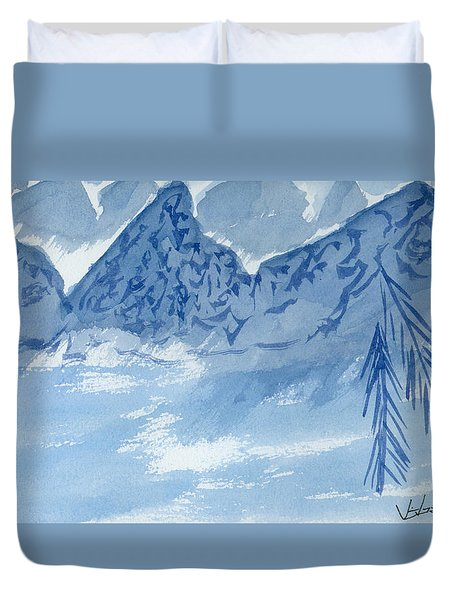Blue View #2 Duvet Cover