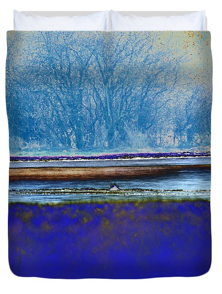 Blue Water Duvet Cover by Carol Lynch