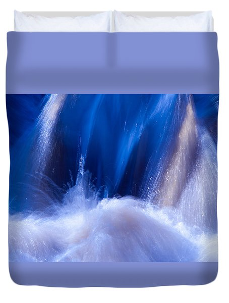 Blue Water Duvet Cover by Torbjorn Swenelius