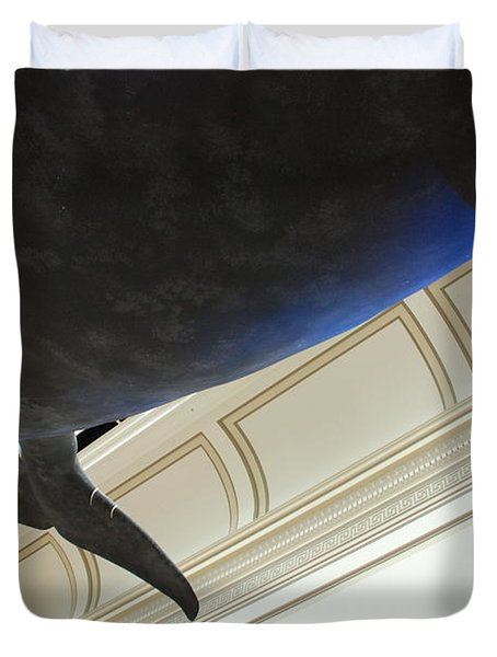 Blue Whale Experience Duvet Cover