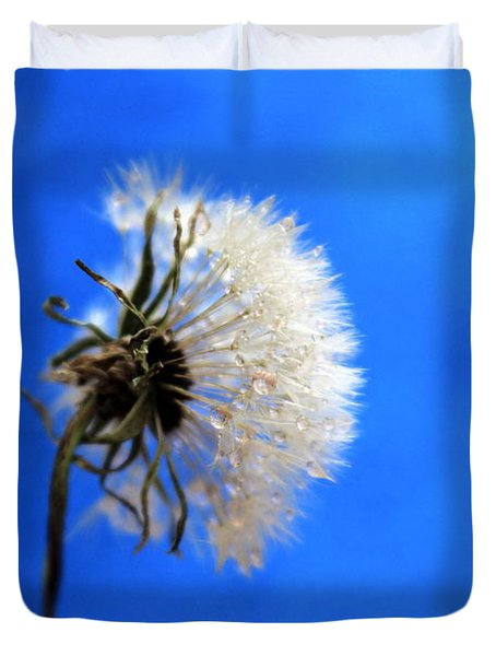 Blue Wish Duvet Cover by Krissy Katsimbras