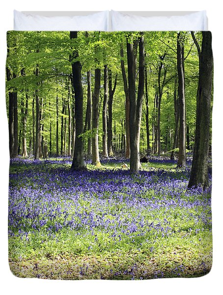 Bluebell Wood Uk Duvet Cover