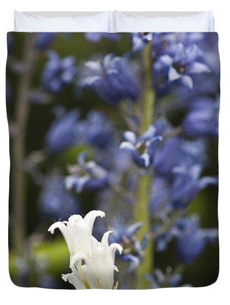 Bluebells 1 Duvet Cover by Steve Purnell