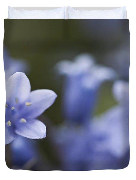 Bluebells 3 Duvet Cover by Steve Purnell
