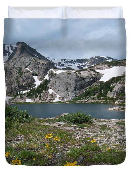 Bluebird Lake - Colorado Duvet Cover