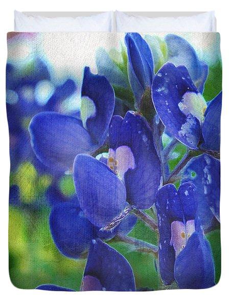 Bluebonnet Charmer Duvet Cover