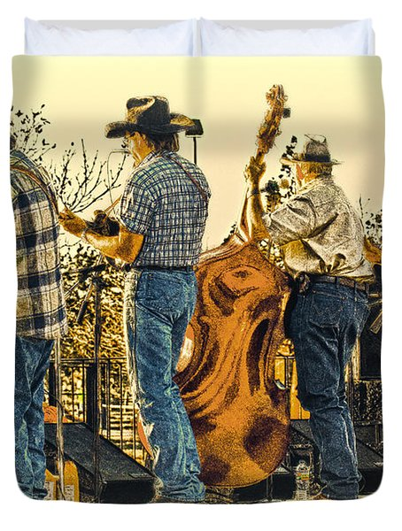 Bluegrass Evening Duvet Cover by Robert Frederick
