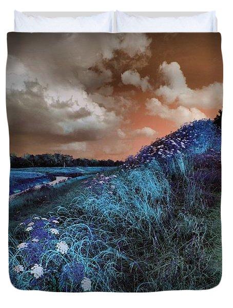 Bluegrass Duvet Cover by Linda Unger